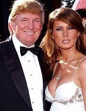 Donald Trump'ın eşi kendisinden 24 yaş küçük.